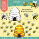 Counting Clip Art 0-20 Bundle: Busy Bugs!