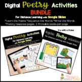 Growing Digital Poetry Bundle Distance Learning