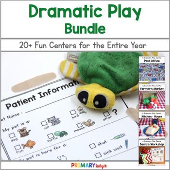 Growing Dramatic Play Center Bundle