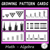 Growing / Extending Pattern Cards  -  Math (Algebra)