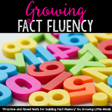 Fact Fluency Timed Tests Addition and Subtraction