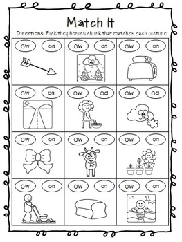 Phonics Printables for the YEAR! - 1st Grade - No Prep!