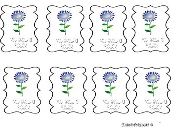 Growing Flowers Open-Ended Envelope Game