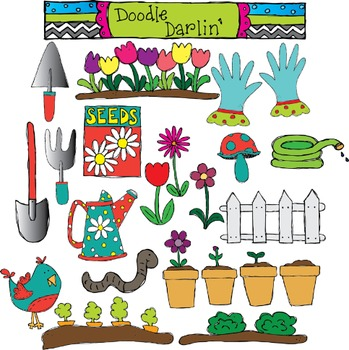 Growing Garden Clipart