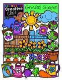 Growing Garden {Creative Clips Digital Clipart}