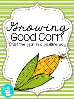 FREEBIE - Growing Good Corn | Building community and partnerships in your school