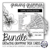 Growing Grammar Task Cards (Nominalisation, Subordinate Clauses and Adverbials)
