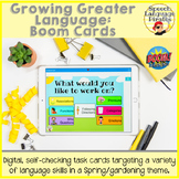Growing Greater Language: Boom Cards for Distance Learning