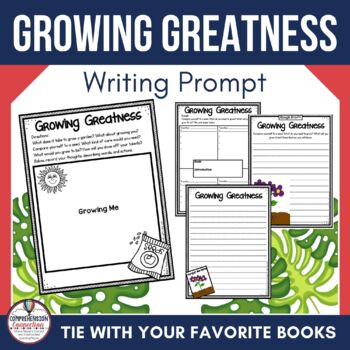 Great end of the year writing prompt FREEBIE that you can use to reflect on how your students have grown.