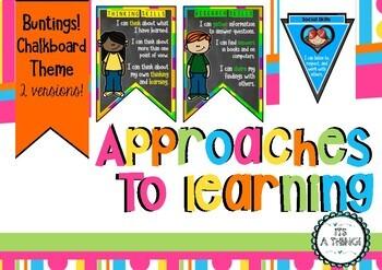 Growing IB PYP Bundle classroom display set - Rainbow & Buntings