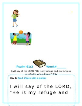 Growing Kids in Christ Scripture Memory Workbook