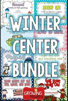 Growing Kinders Winter Center Bundle