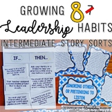 Growing Leadership Habits {8 Story Sorts} **SCHOOL LICENSE**
