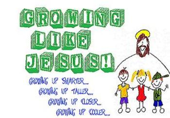 Growing Like Jesus...Growing Up Closer