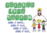 Growing Like Jesus...Growing Up Cooler