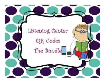 Growing Listening Center QR Code Bundle