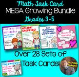 MEGA Task Card Bundle: TON of Word Problems for Grades 3-5