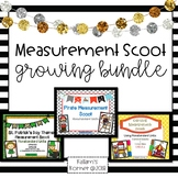 Measurement Scoot Growing Bundle -Nonstandard Units of Measurement