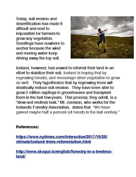 Growing New Forests in Iceland