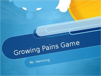 Growing Pains Game