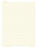 Growing Pains Game Grid Paper