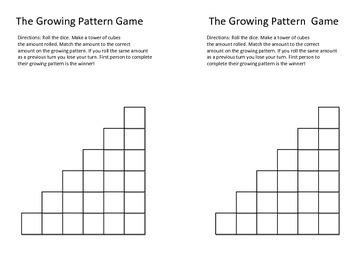 Growing Pattern Game