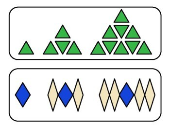 Growing Pattern Task Cards - Part 2