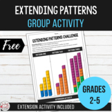 Extending Patterns Challenge | Small Group Activity