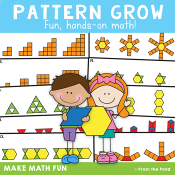 Growing Patterns Worksheet Teaching Resources Teachers Pay Teachers