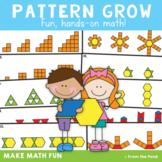 Growing Patterns - Pattern Blocks Math Center