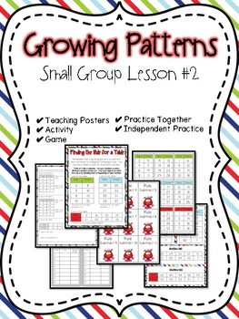 Growing Patterns Small Group Lesson #2