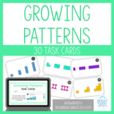 Growing Patterns Task Cards