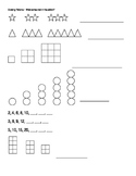 Growing Patterns Worksheet