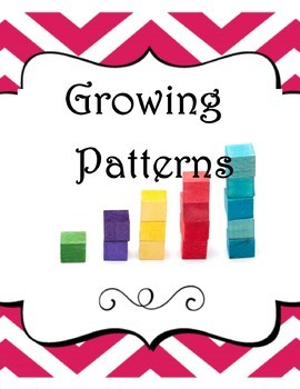 Growing Patterns practice pages