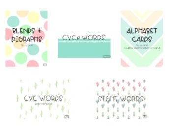 Growing Phonics Flash Card Bundle