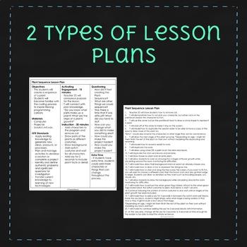 Growing Plants - April Scratch Lesson Plan