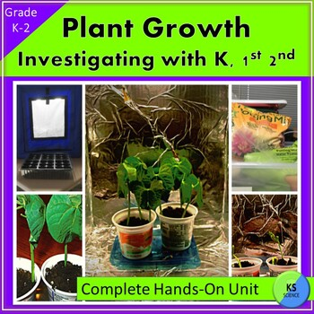 Growing Plants in a Light Hut:  Kindergarten, First, and Second Grade Experiment