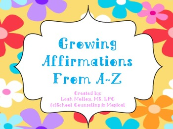 Growing Positive Affirmations (Power Point)