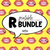 R Sound Growing Bundle - R Speech Therapy - Vocalic R Articulation