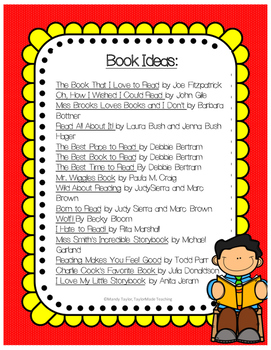 Growing Readers:Ideas and activities to get to know your class as readers