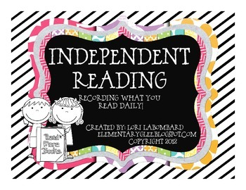 Growing Readers-Independent Reading Log