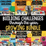 Growing STEM Building Challenges Bundle Through the Year