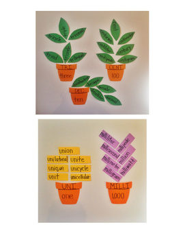 Growing STEM: Vocabulary from Roots: Math: Numbers