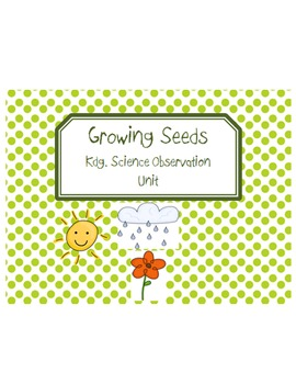 Growing Seeds Science Journal
