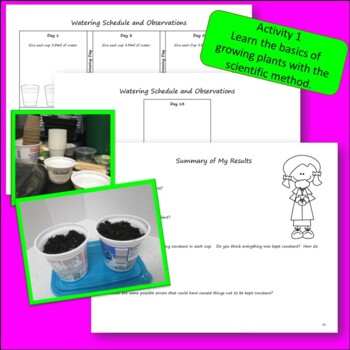 Growing Seeds and Plants Using a Light Hut: 3rd, 4th, and 5th Grade Experiments