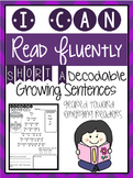 Growing Sentences: Short A Decodable Sentences - Fluency