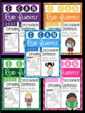Growing Sentences: Short Vowel Decodable Sentences {fluency development}