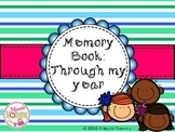 Memory Book: Through my year!