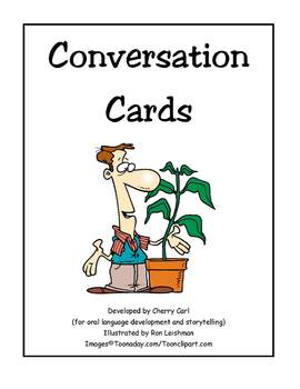 Growing Things Conversation Cards for Language Development