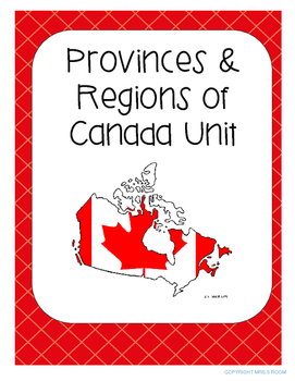 Canada's Provinces and Regions Growing UNIT - Reduced Price Currently